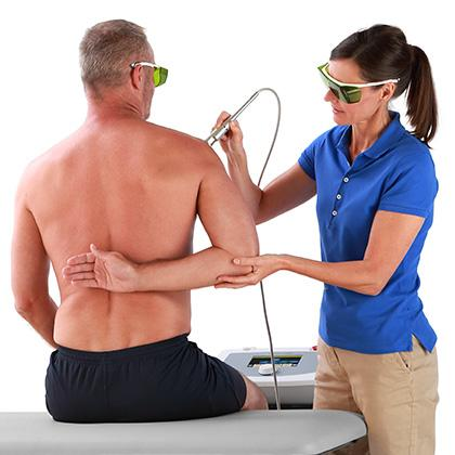 High Power Laser - Treatment Shoulder