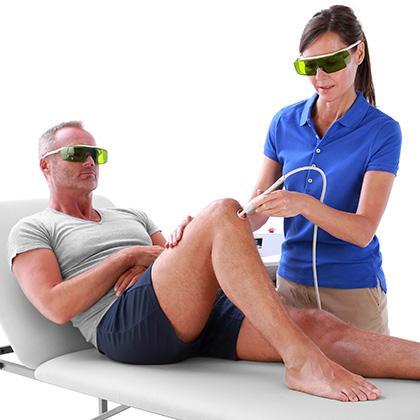 High Power Laser - Treatment Knee